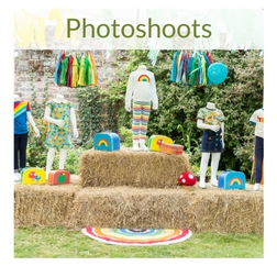 Straw bales for photoshoots