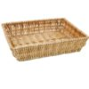 Medium wicker hamper tray