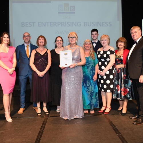Best Enterprising Business runners up may 2019