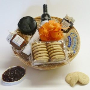 cheese and biscuit hamper pecks farm shop leighton buzzard