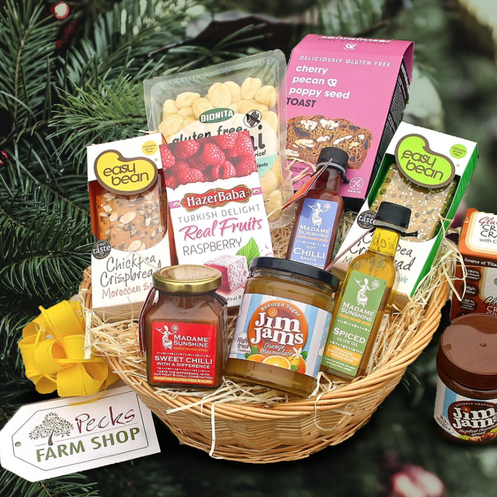 Gluten Free Food Hamper Pecks Farm Shop And Hampers
