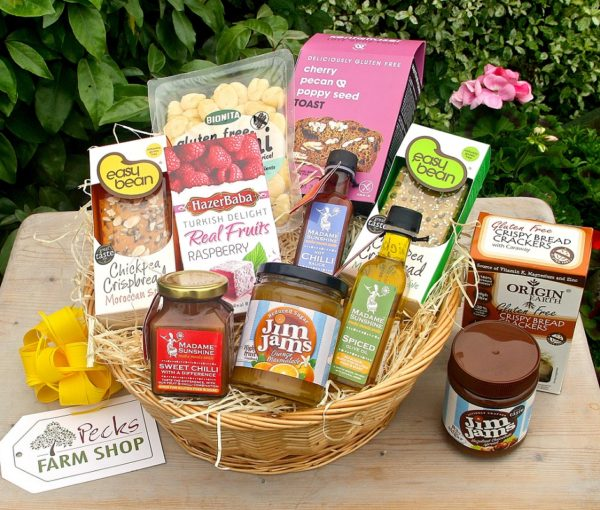 gluten free hamper pecks farm shop leighton buzzard
