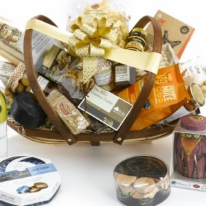 luxury Christmas hamper pecks farm shop leighton buzzard