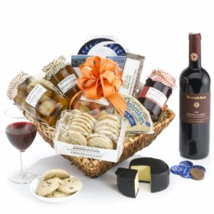 cheese and wine hamper pecks farm shop leighton buzzard