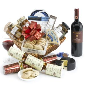 luxury Christmas hamper pecks farm shop
