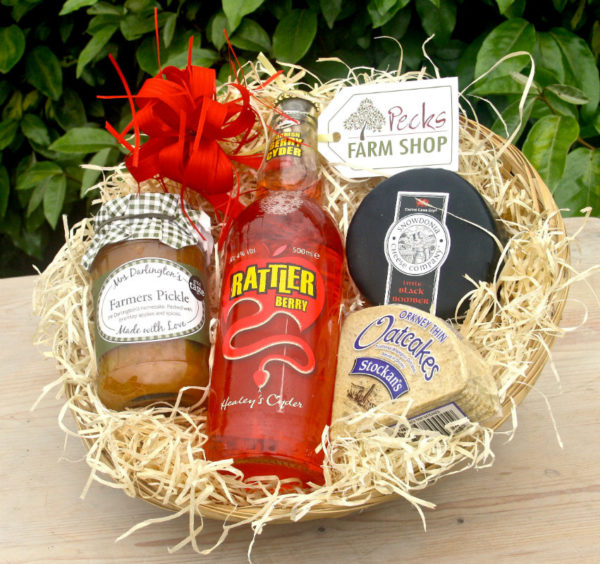 rattler cider hamper pecks farm shop leighton buzzard
