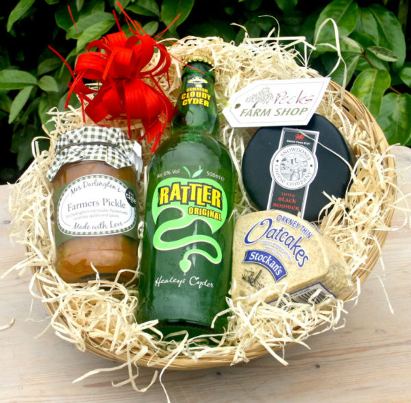 cider hamper pecks farm shop leighton buzzard