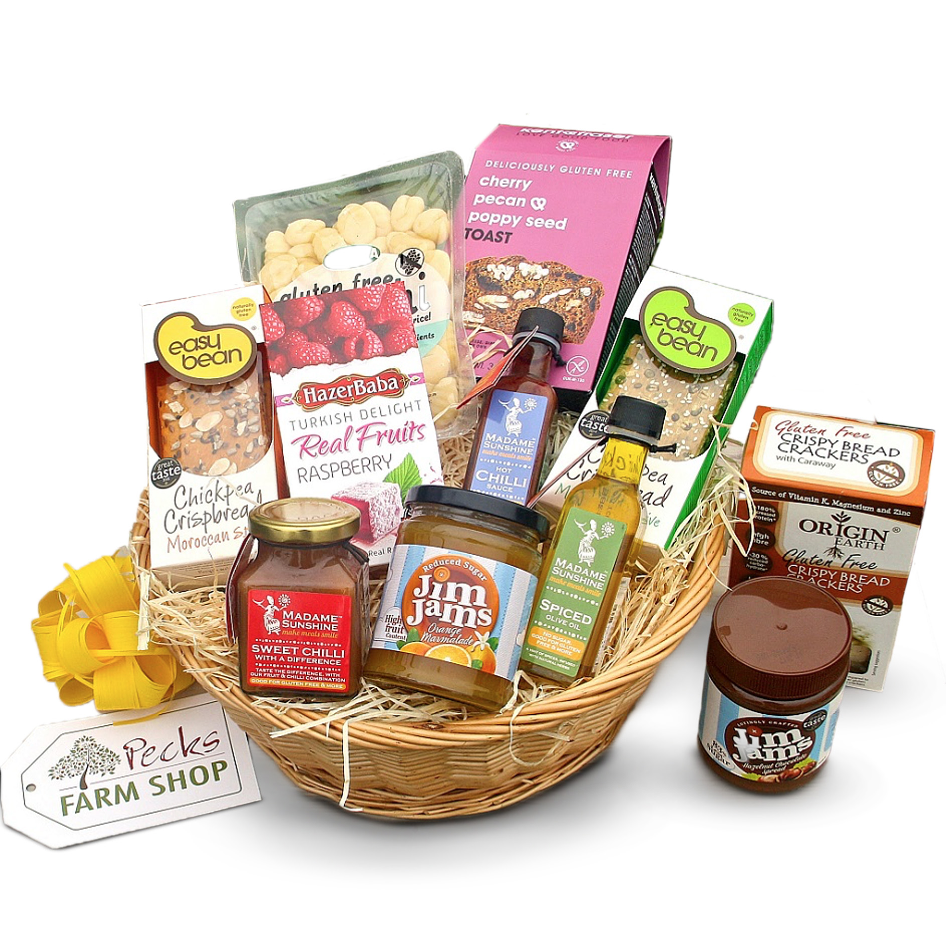 Gluten Free Food Gift Hamper Pecks Farm Shop Hampers